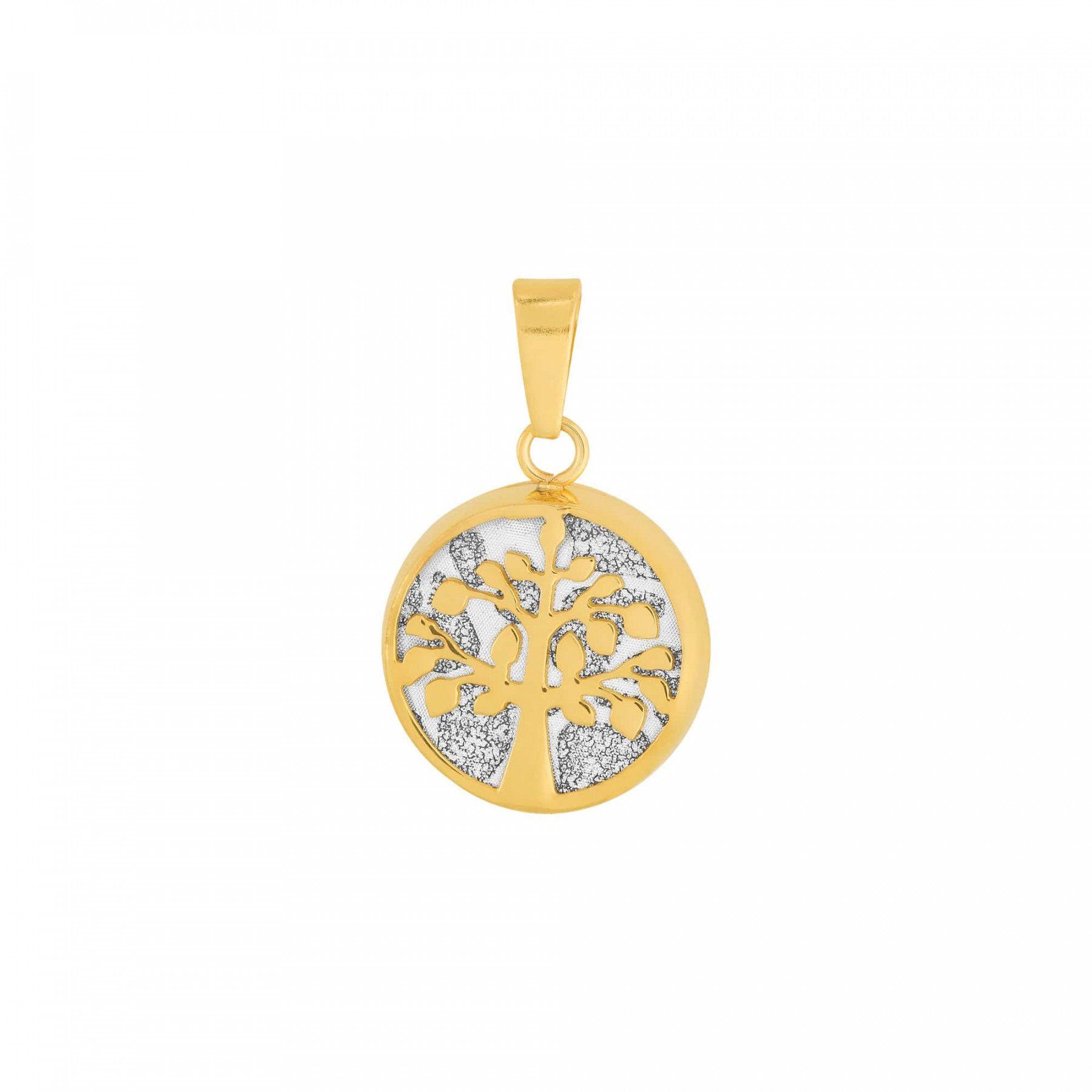 Colar Aço Dourado (IPG) Cartier Árvore da Vida 45cm 414645