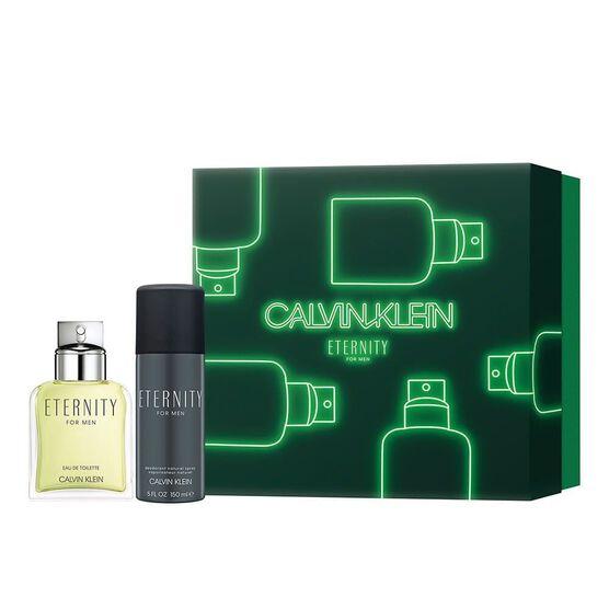 Conjunto Eternity for Men Calvin Klein Masculino EDT 100ml + Des Spray 150ml