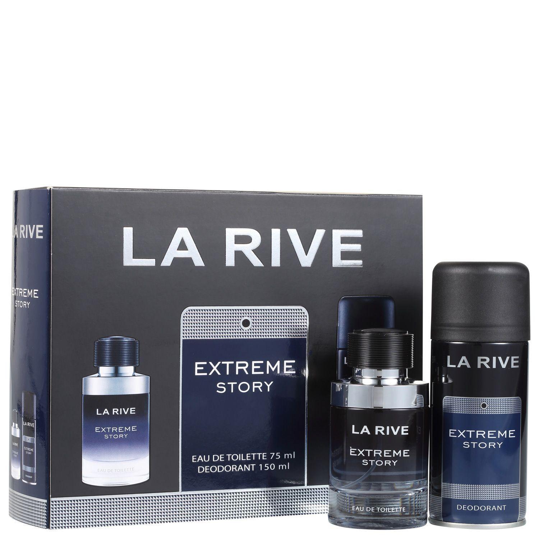Conjunto Extreme Story La Rive Masculino Eau de Toilette 75ml + Desodorante 150ml