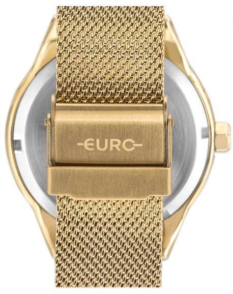 Kit Relógio Euro Spike Glow Dourado Feminino EU2035YRJ/K4D