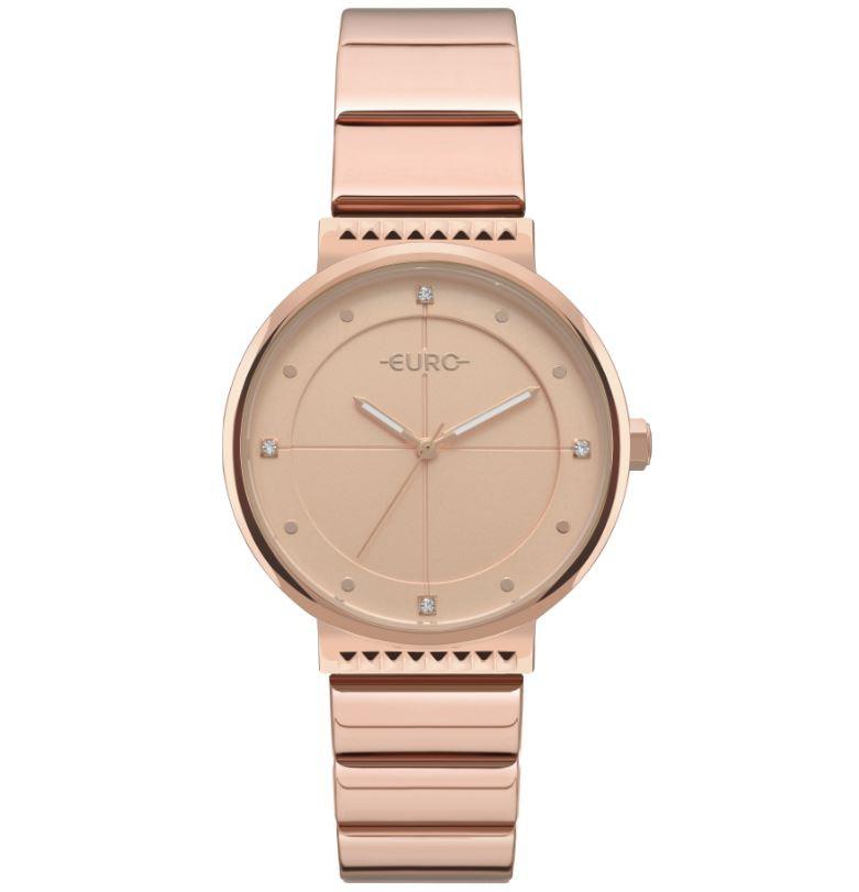 Relógio Euro Spike Slim Rose Feminino EU2035YSE/4J