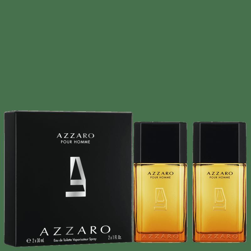 Kit Perfume Azzaro Pour Homme Masc. EAU De Toilette 2 X 30 ML