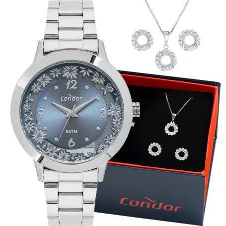 Kit Relógio Condor Feminino CO2039BG/K3A