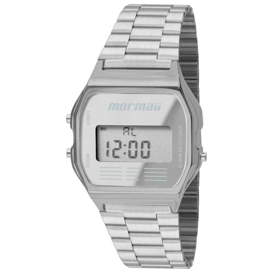 Relógio Feminino Mormaii Vintage Prata MOJH02AA/K3C