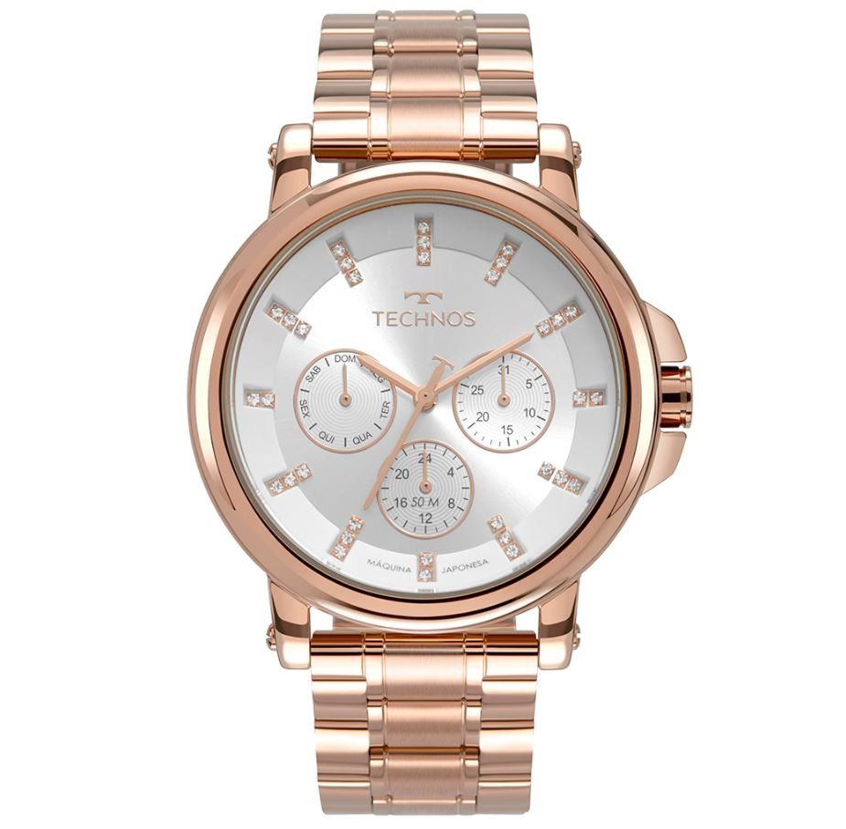 Relógio Feminino Technos Elegance Rose 6P29AKW/K4K