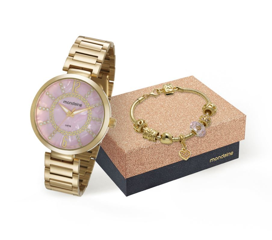 Relógio Mondaine Feminino 53617LPMKDE2K1