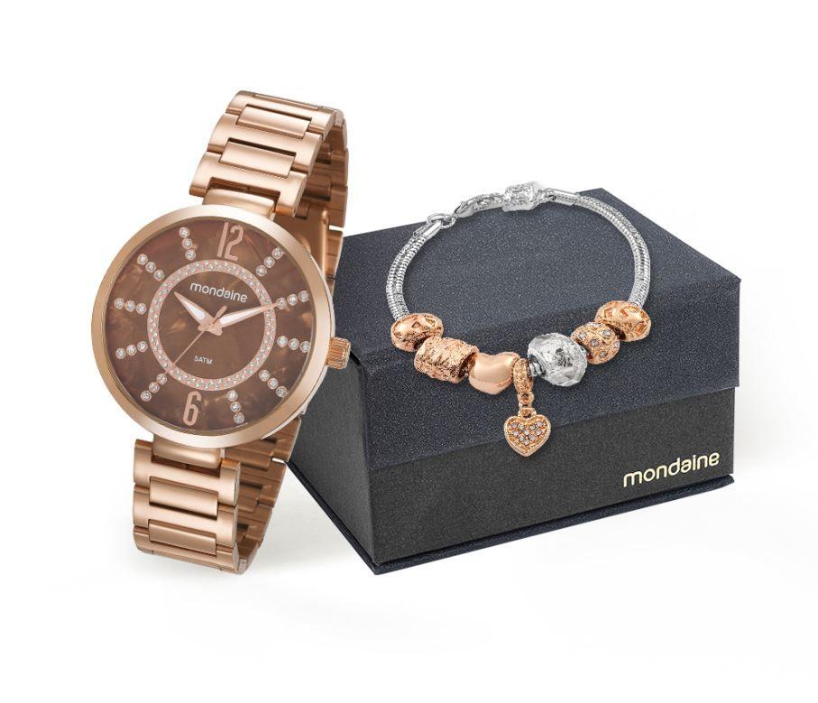 Relógio Mondaine Feminino 53617LPMKRE3K1