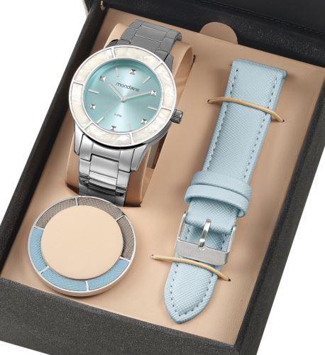 Relógio Mondaine Feminino Troca Pulseiras 99265L0MVNE4