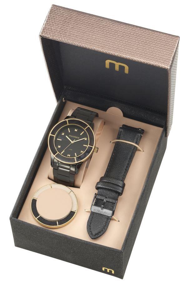 Relógio Mondaine Feminino Troca Pulseiras 99265LPMVPE2