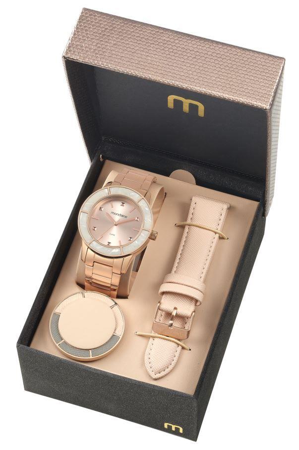 Relógio Mondaine Feminino Troca Pulseiras 99265LPMVRS3 - Relógios de ... bcd7936c48