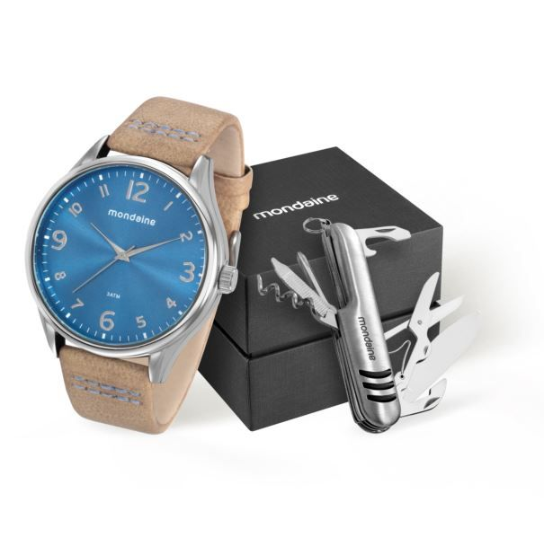 Relógio Mondaine Masculino 76622G0MVNH1K1