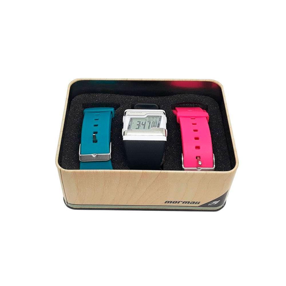 Kit Relógio Mormaii Troca Pulseiras Digital Unissex FZ/T8J