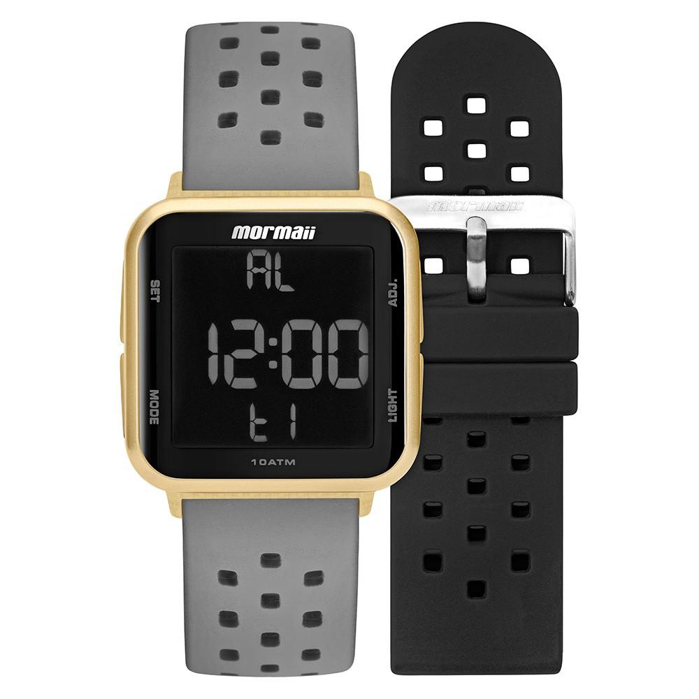 Kit Relógio Mormaii Troca Pulseiras MO6600AI/T8A