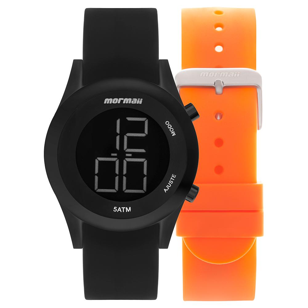 Kit Relógio Mormaii Troca pulseiras MOMD1201AE/T8L