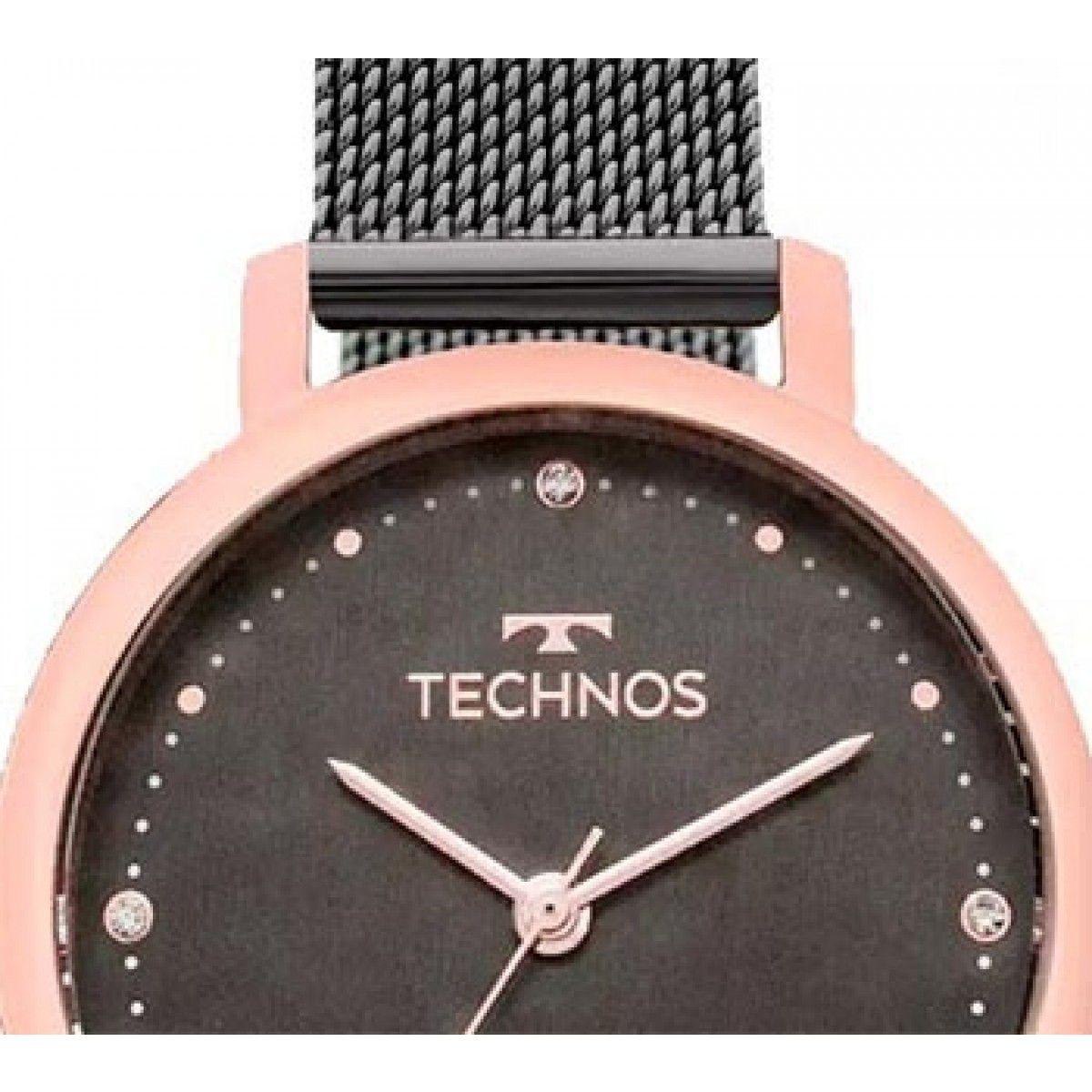 Kit Relógio Technos Fashion Trend Feminino 2035MMO/K5C