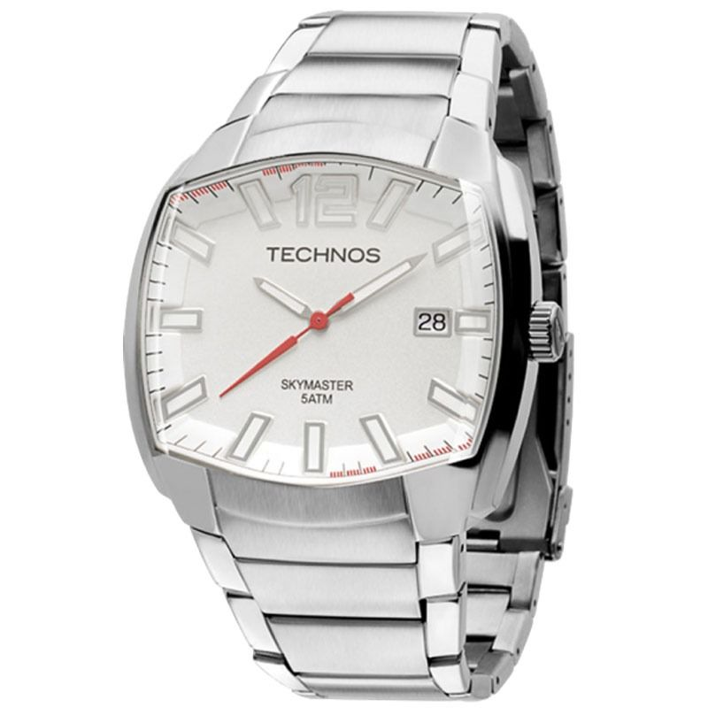 Relógio Technos Masculino SKYMASTER Com Pen Drive 2415BM/K1K