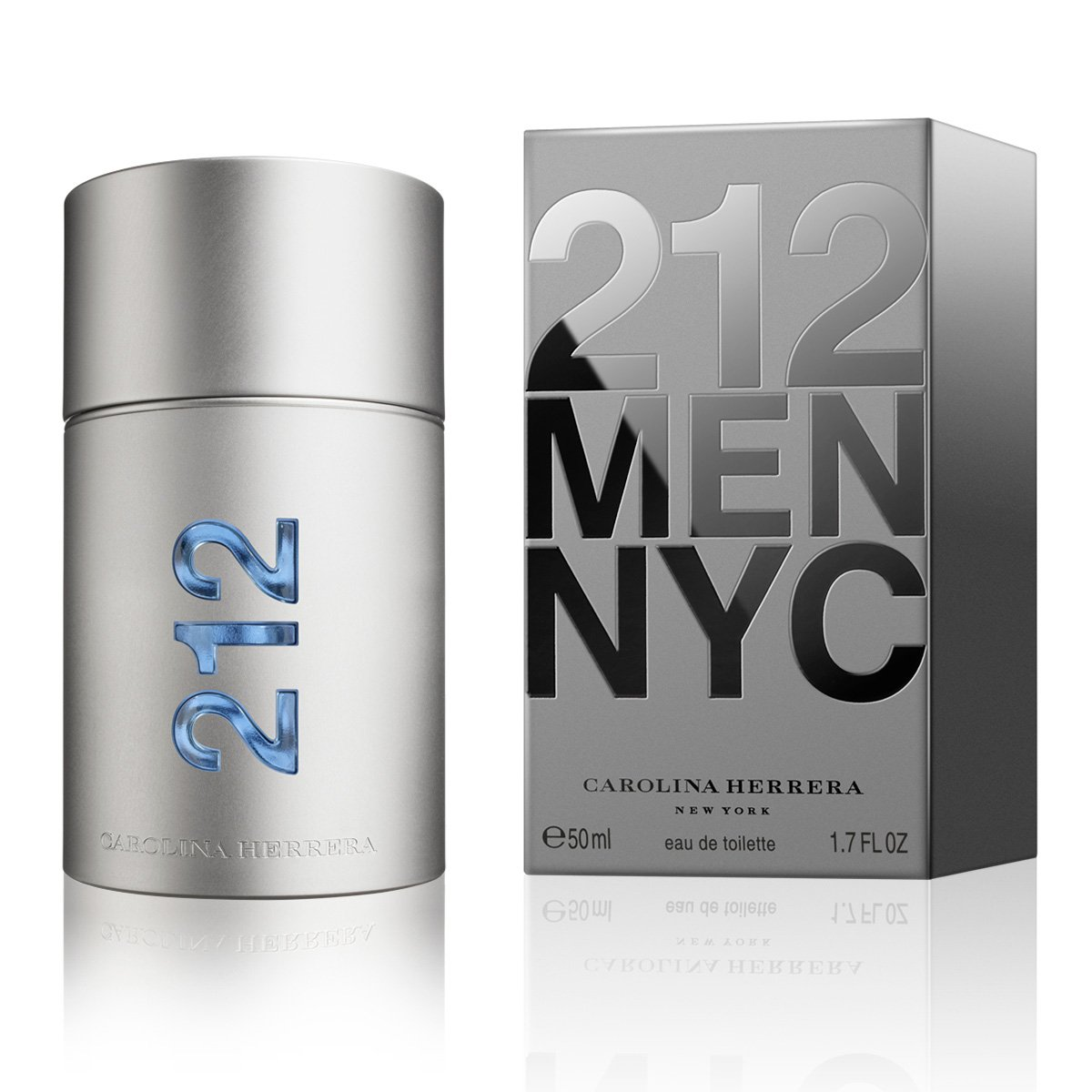 Perfume Masculino 212 Men NYC Carolina Herrera Eau de Toilette 50ml