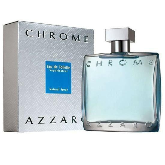 Perfume Masculino Azzaro Chrome Eau de Toilette 50ml