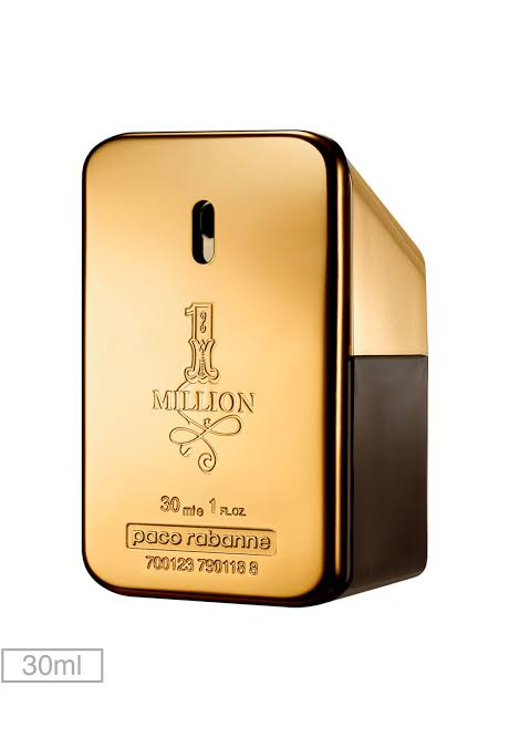 Perfume Paco Rabanne 1 Million Masculino EAU De Toilette 30 ML