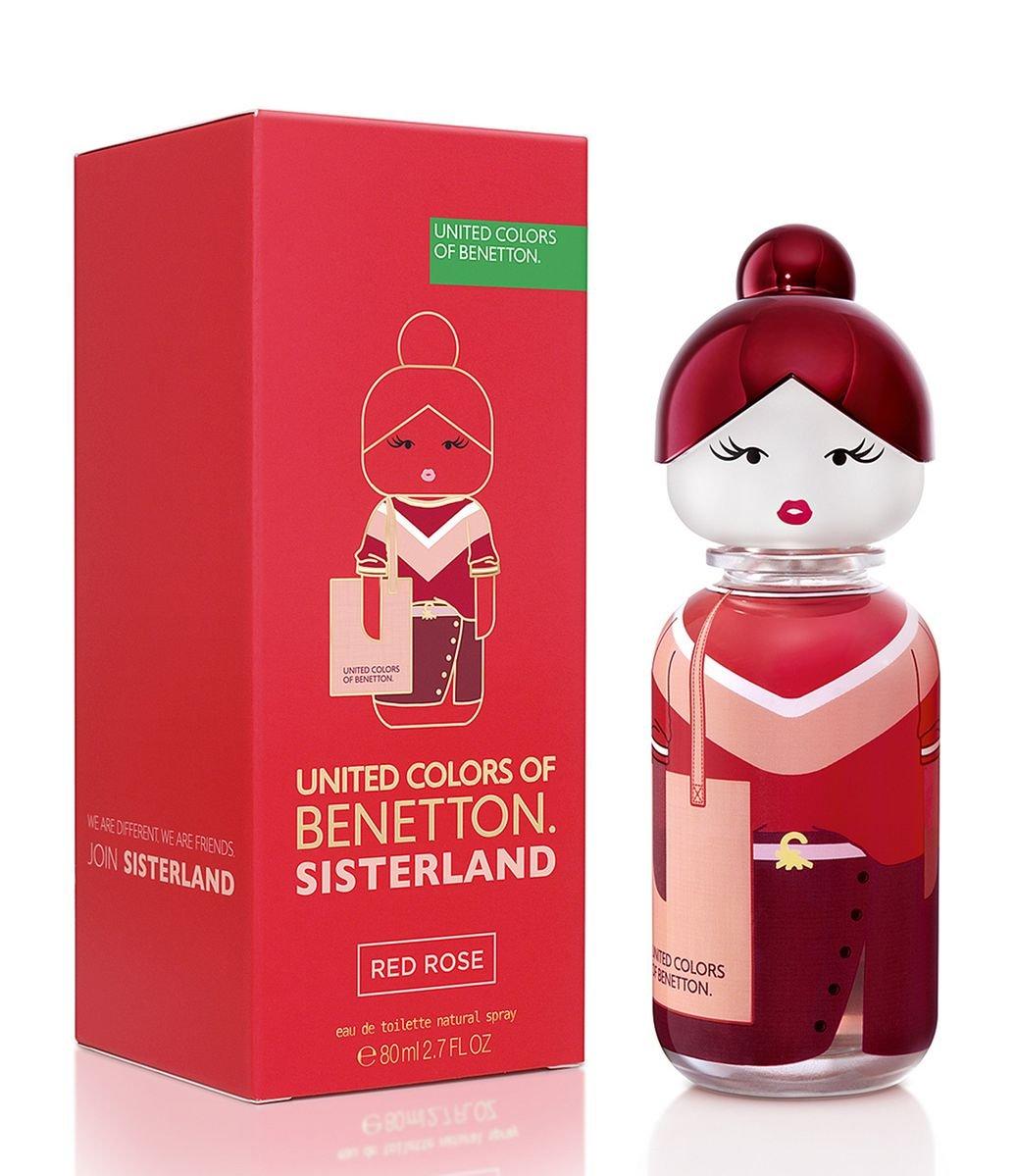 Perfume Sisterland Red Rose Benetton Eau de Toilette 80ml