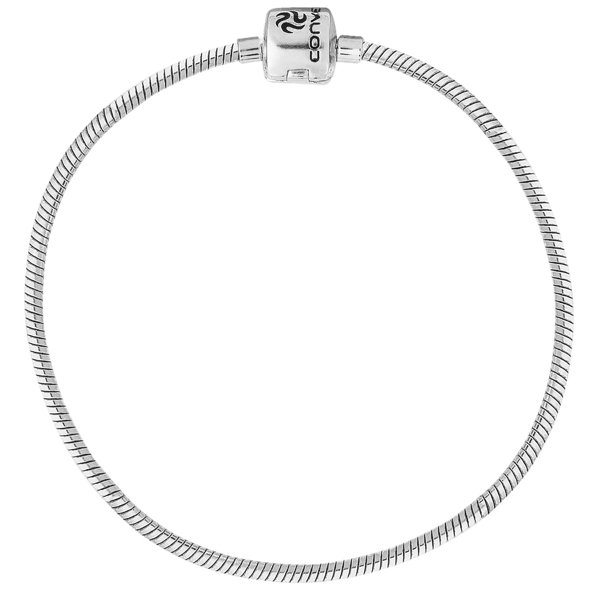 Pulseira de Prata para Berloque 20cm 3490120