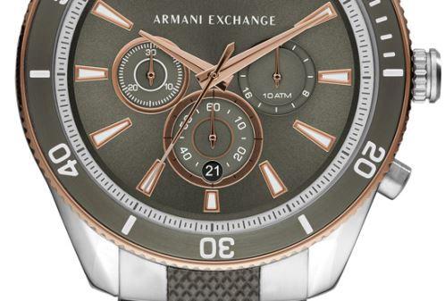 Relógio Armani Exchange Enzo Cronógrafo Masculino AX1830/1KN