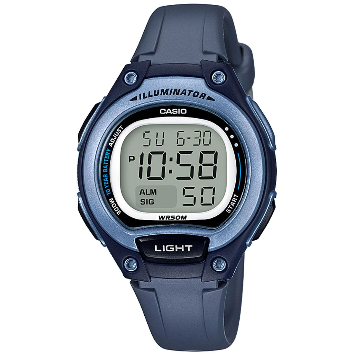a5d900c256a Relógio Casio Bateria 10 ANOS Feminino LW-203-2AVDF - Relógios de ...
