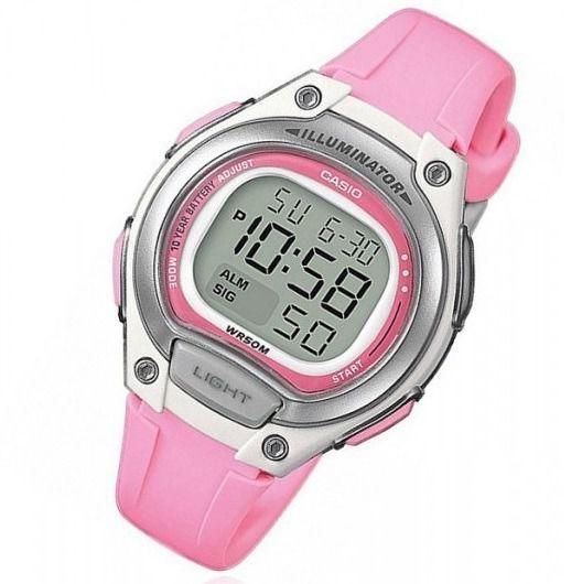 Relógio Casio Bateria 10 ANOS Feminino LW-203-4AVDF