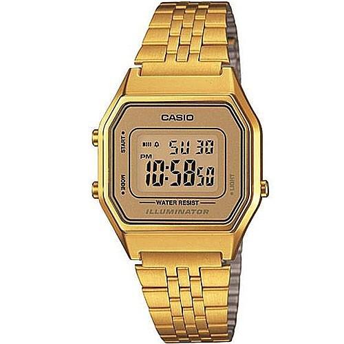 Relógio Casio Vintage Unissex LA680WGA-9DF