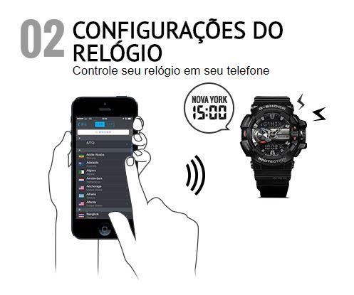 8a5de53ec0c undefined Loading zoom Source · Rel gio Casio G Shock G MIX Masculino GBA  400 1A9DR Rel gios de