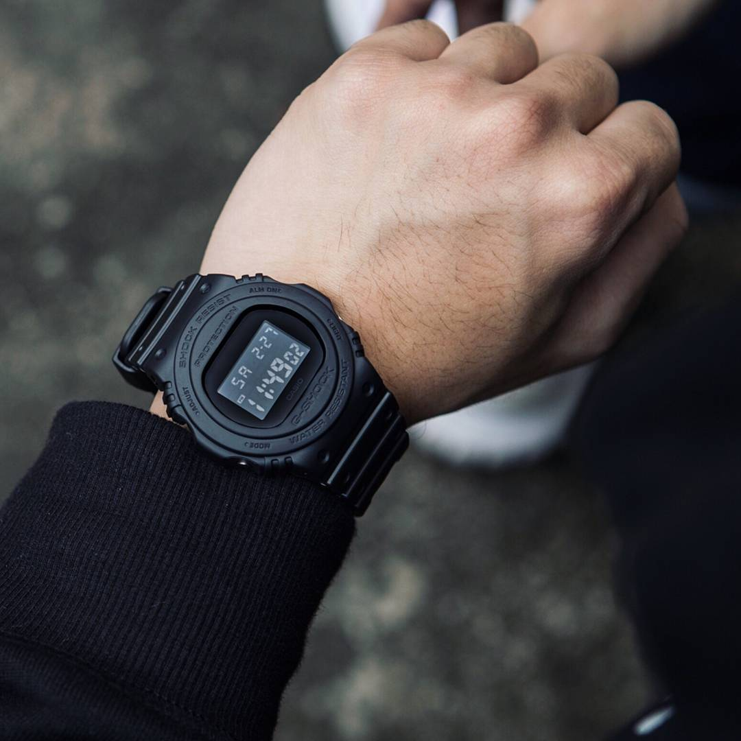 8ac371b2401 Relógio Casio G-Shock Masculino DW-5750E-1BDR - Relógios de Fábrica