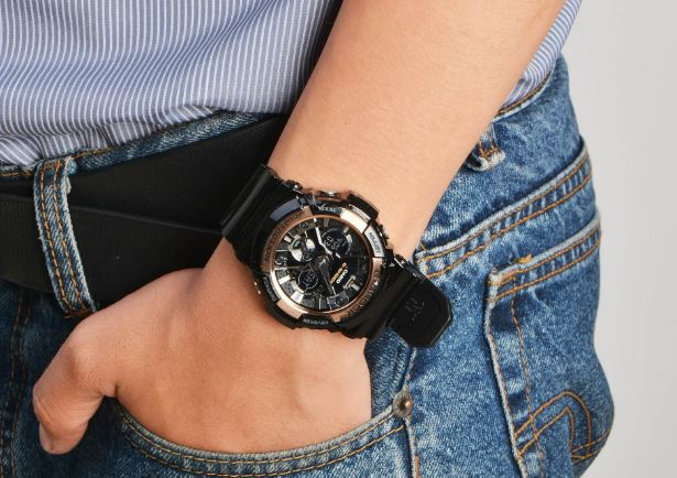 Relógio Casio G-Shock Masculino GA-200RG-1ADR