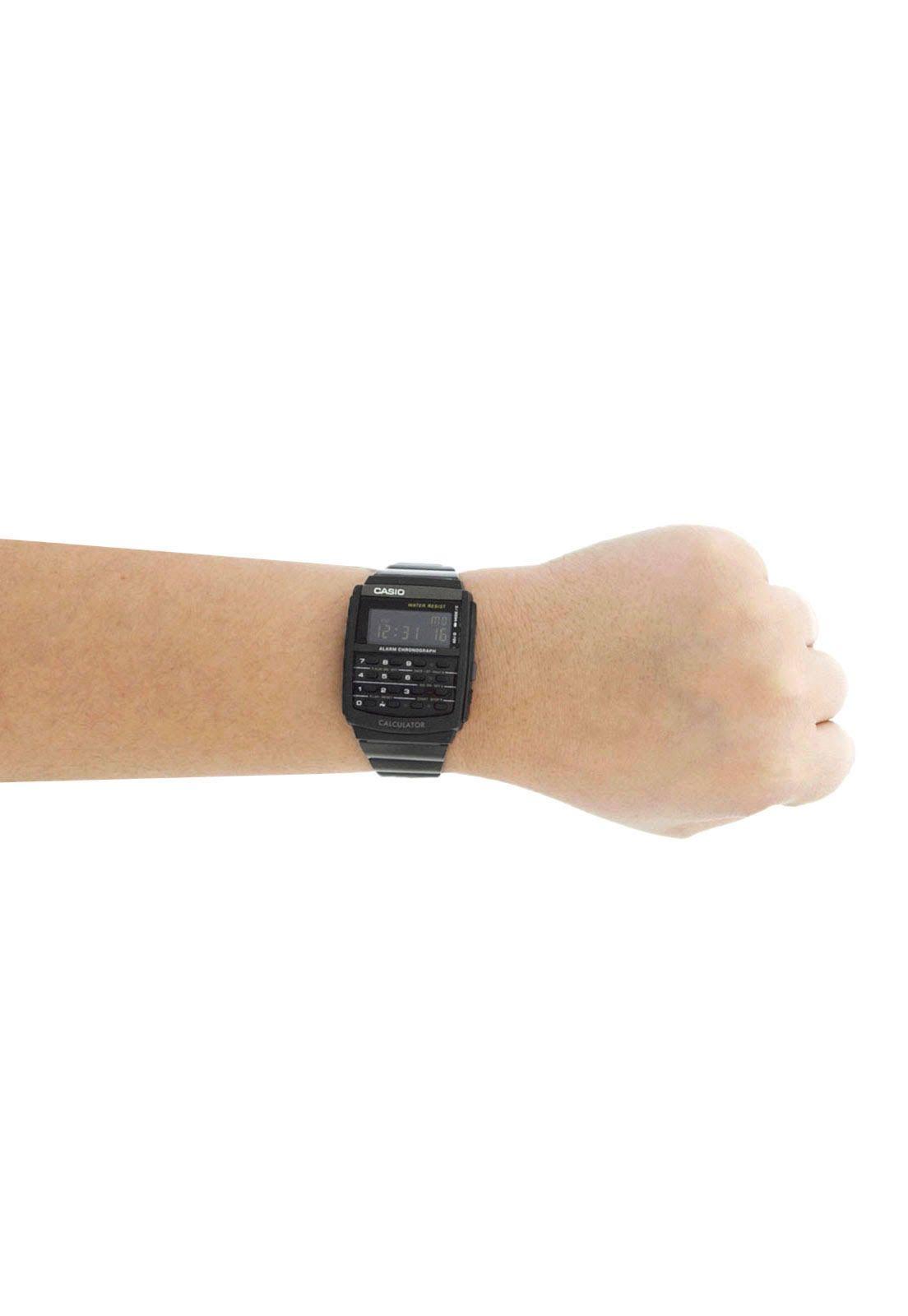 83a7add1268 Relógio Casio Masculino Vintage Calculadora CA-506B-1ADF - Relógios ...
