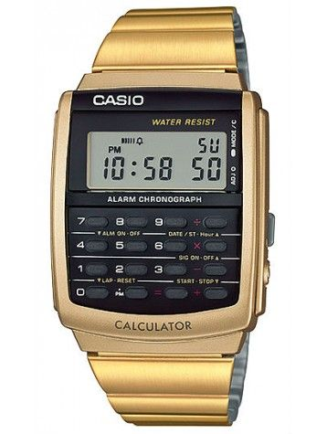 Relógio Casio Vintage Unissex Calculadora CA-506G-9ADF