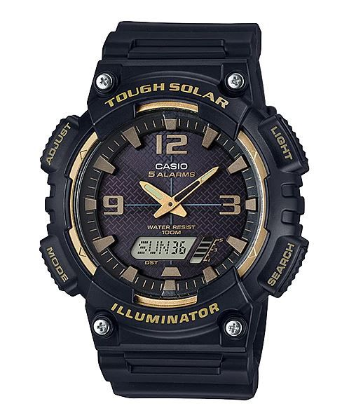 c964360cb19 Relógio Casio Tough Solar Masculino AQ-S810W-1A3VDF - Relógios de ...