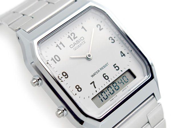 Relógio Casio Vintage AnaDigi Unissex AQ-230A-7BMQ