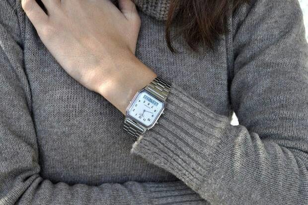 8ec6792a451 Relógio Casio Vintage Unissex AQ-230A-7BMQ - Relógios de Fábrica