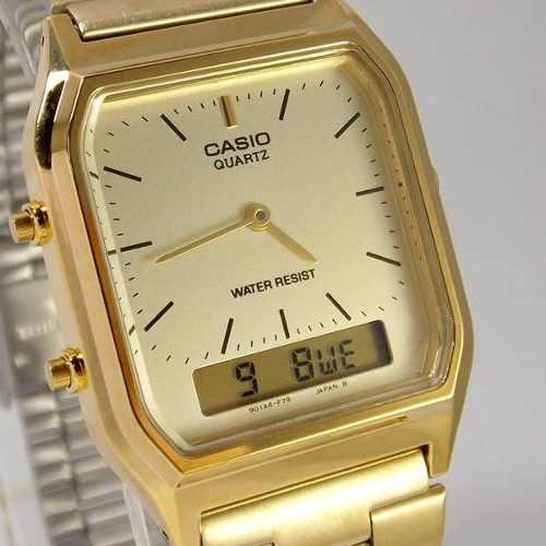 1b37bbed920 Relógio Casio Unissex Vintage AQ-230GA-9DMQ - Relógios de fábrica