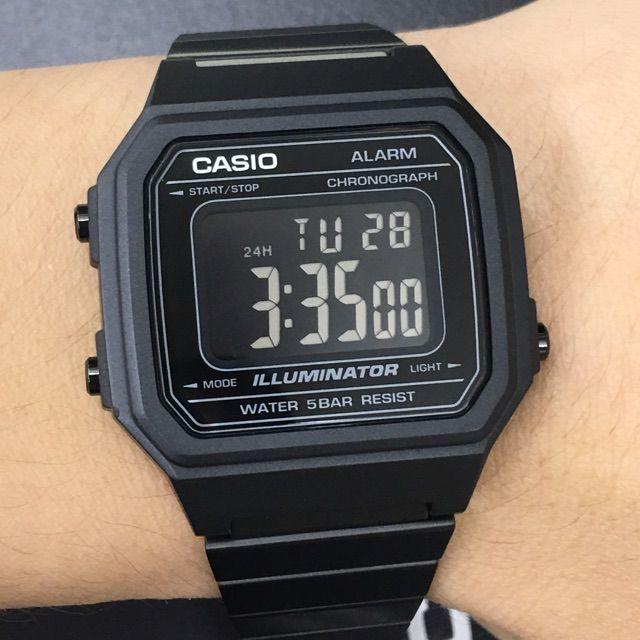 3c8b3f1a43e Relógio Casio Unissex Vintage B650WB-1BDF - Relógios de Fábrica