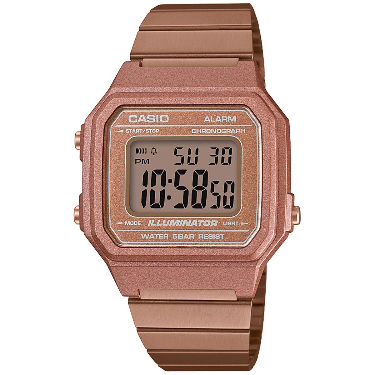 a6bc4f0bc04 Relógio Casio Unissex Vintage B650WC-5ADF - Relógios de Fábrica