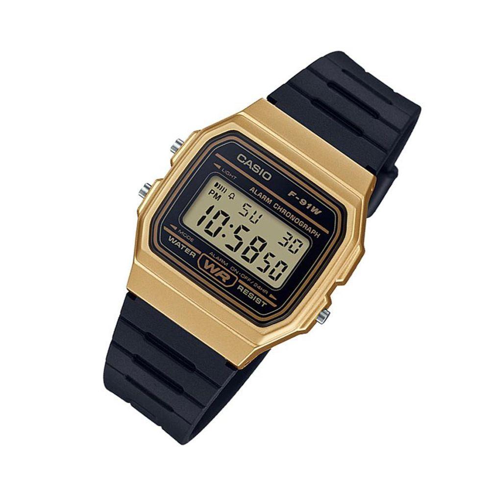 6612201c6aa Relógio Casio Vintage Unissex F-91WM-9ADF - Relógios de Fábrica