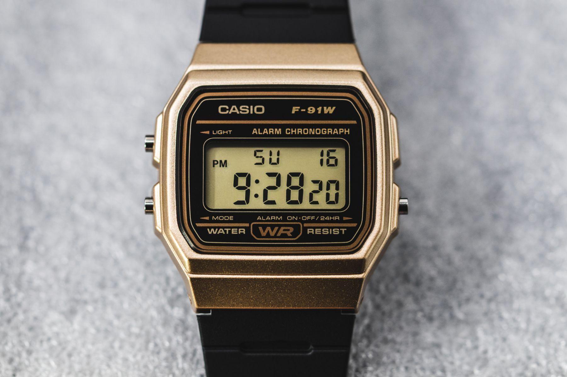 7179f5c26b7 Relógio Casio Vintage Unissex F-91WM-9ADF - Relógios de Fábrica