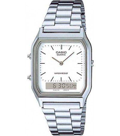 Relógio Casio Vintage AnaDigi Unissex AQ-230A-7DMQ