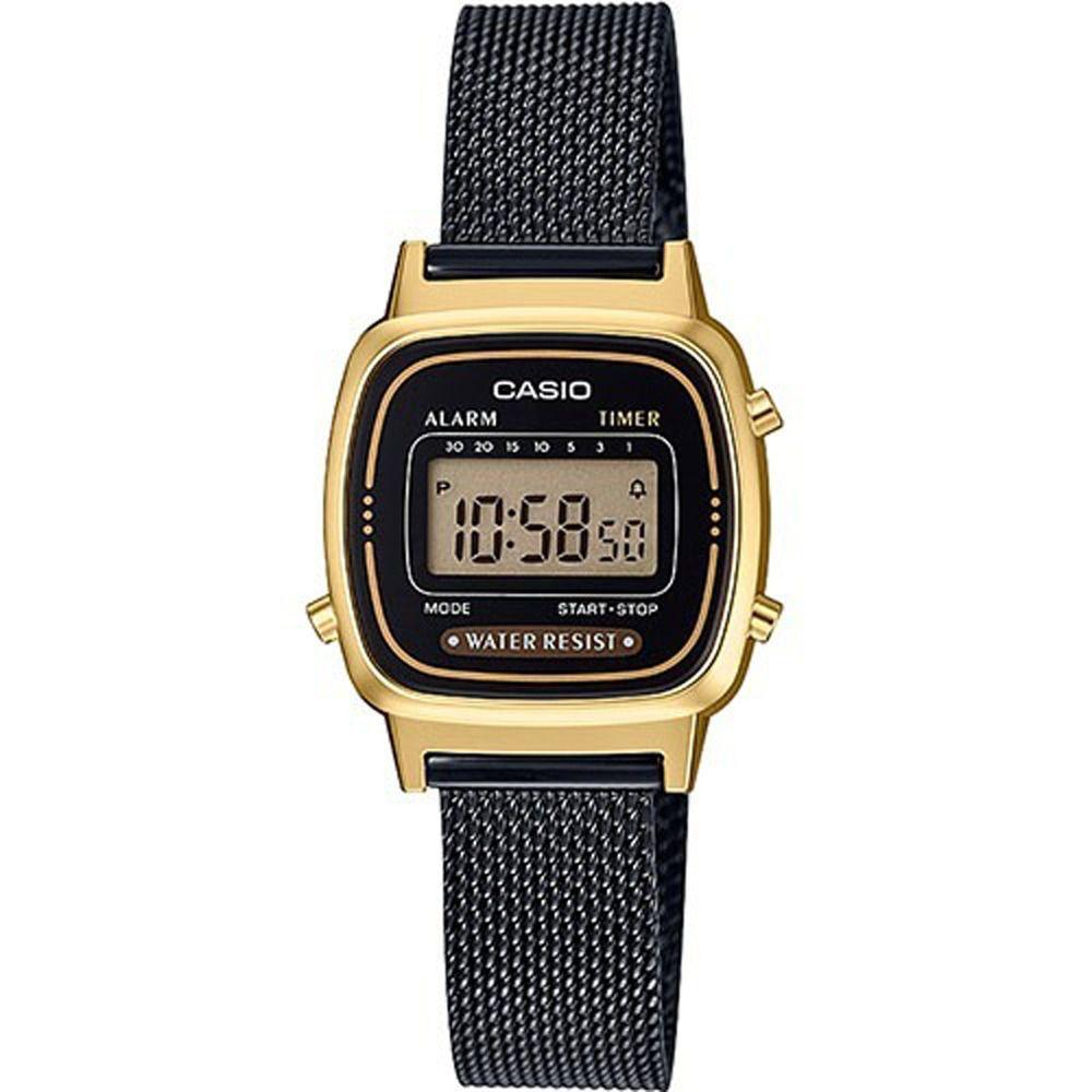 c7567717f34 Relógio Casio Vintage Bicolor Feminino LA670WEMB-1DF - Relógios de ...