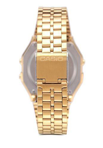 Relógio Casio Vintage Diamonds Dourado Unissex A159WGED-1DF