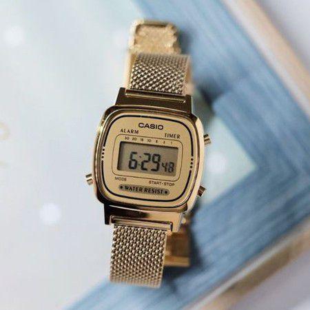 Relógio Casio Vintage Feminino LA670WEMY-9DF