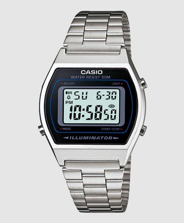 Relógio Casio Vintage Prata B640WD-1AVDF