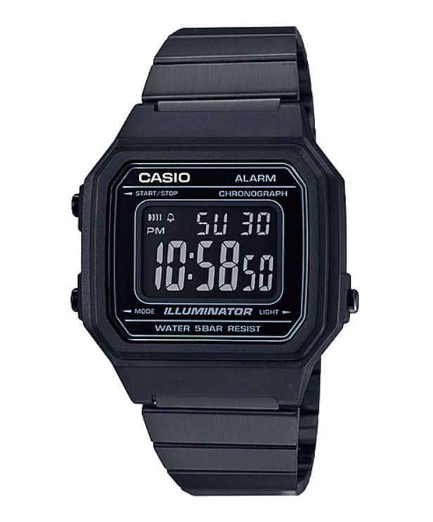 Relógio Casio Vintage Preto B650WB-1BDF