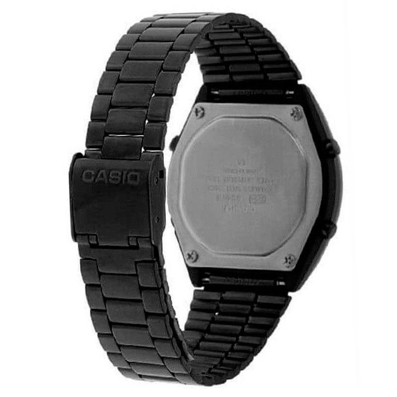 Relógio Casio Vintage Preto Unissex B640WB-1ADF