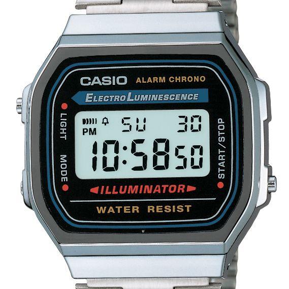 Relógio Casio Vintage Unissex A168WA-1WDF